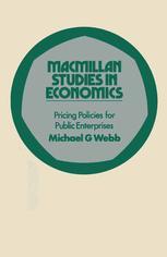 Pricing Policies for Public Enterprises