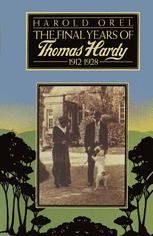 The Final Years of Thomas Hardy, 1912–1928