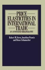 Price Elasticities in International Trade