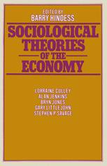 Sociological Theories of the Economy