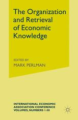 The Organization and Retrieval of Economic Knowledge