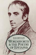 Wordsworth and the Poetry of Epitaphs