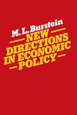 New Directions in Economic Policy