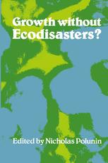 Growth without Ecodisasters?
