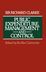Public Expenditure, Management and Control