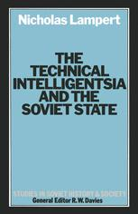 The Technical Intelligentsia and the Soviet State