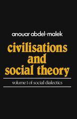 Civilisations and Social Theory