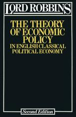 The Theory of Economic Policy