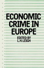 Economic Crime in Europe