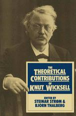 The Theoretical Contributions of Knut Wicksell
