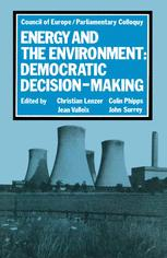 Energy and the Environment: Democratic Decision-Making