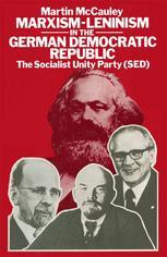 Marxism-Leninism in the German Democratic Republic