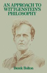 An Approach to Wittgenstein's Philosophy
