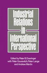 Industrial Relations in International Perspective