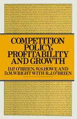 Competition Policy, Profitability and Growth