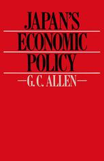 Japan's Economic Policy