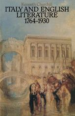 Italy and English Literature 1764–1930
