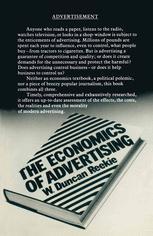 The Economics of Advertising