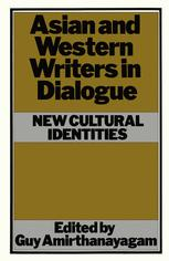 Asian and Western Writers in Dialogue