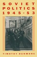 Soviet Politics, 1945–53