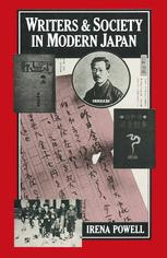 Writers and Society in Modern Japan