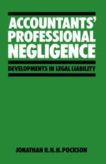 Accountants' Professional Negligence