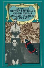 Contemporary Drama and the Popular Dramatic Tradition in England