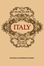 The Music Guide to Italy