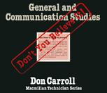 General and Communications Studies