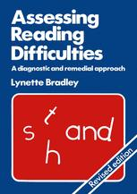 Assessing Reading Difficulties