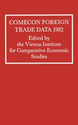 Comecon Foreign Trade Data 1982