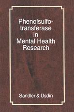 Phenolsulfotransferase in Mental Health Research