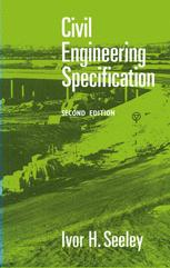 Civil Engineering Specification