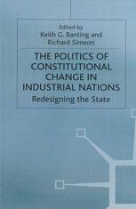 The Politics of Constitutional Change in Industrial Nations