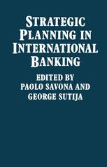 Strategic Planning in International Banking