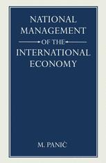 National Management of the International Economy