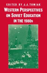 Western Perspectives on Soviet Education in the 1980s