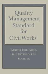 Quality Management Standard for Civil Works