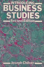 Introducing Business Studies