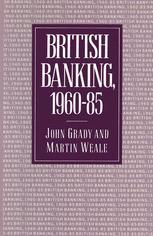 British Banking, 1960–85
