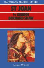 St Joan by George Bernard Shaw