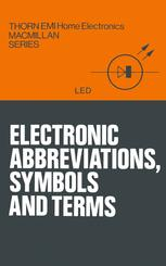 Electronic abbreviations, symbols and terms