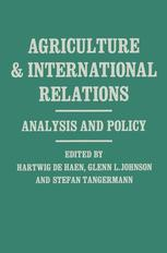 Agriculture and International Relations
