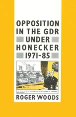 Opposition in the GDR under Honecker, 1971–85