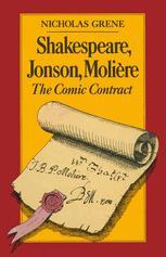 Shakespeare, Jonson, Molière