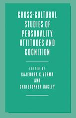 Cross-Cultural Studies of Personality, Attitudes and Cognition