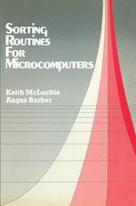 Sorting Routines for Microcomputers