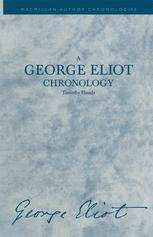 A George Eliot Chronology