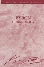 A Byron Chronology