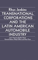 Transnational Corporations and the Latin American Automobile Industry